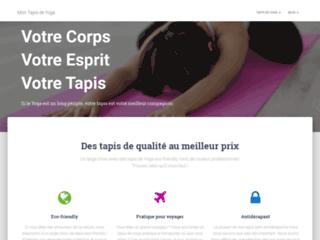 Acheter un tapis de yoga en ligne sur mon tapis de yoga