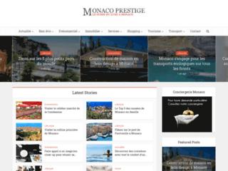 Aperçu du site Monaco Prestige