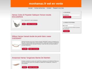 Aperçu du site Mon Hamac