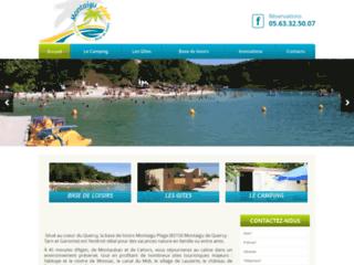 Montaigu Plage : camping lot