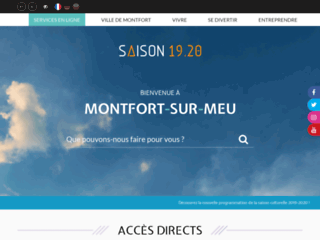 Montfort sur Meu Site Officiel