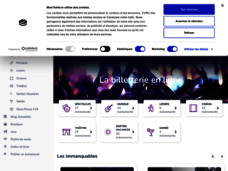 Détails : Billeterie en ligne La Réunion