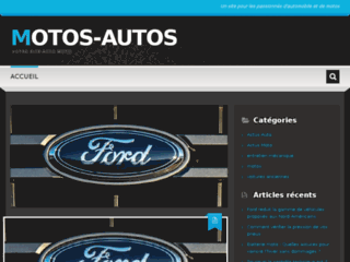 Détails : http://motos-autos.com : votre site auto motos