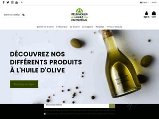Détails : huile d'olives