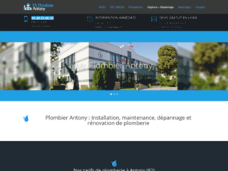 Site officiel de Mr Plombier Antony