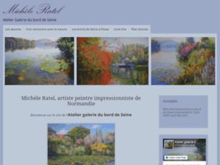 Galerie d'artiste peintre. Week-end en Haute Normandie