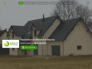 Détails : Dessinateur plan maison Mauriac