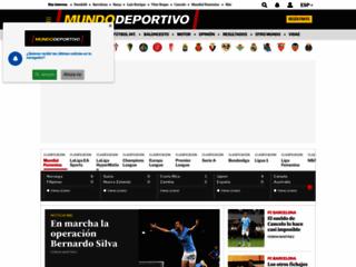 Detalles : Mundo Deportivo el diario deportivo Online