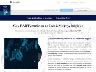 Musicien de jazz à Mousty et Waterloo