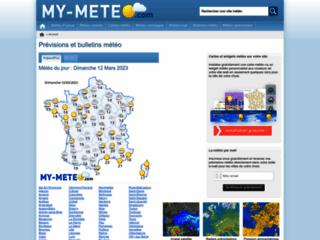 Capture du site http://www.my-meteo.fr