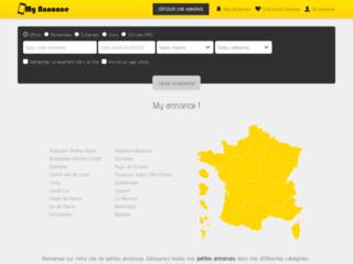 MyAnnonce.fr - petites annonces en ligne - annonce gratuite