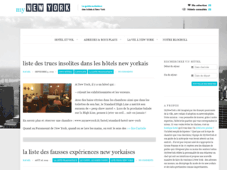 Capture du site http://www.mynewyork.fr