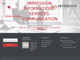 Capture du site http://www.myosotis.fr/