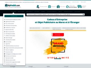 Détails : MyProGift.com - Objets publicitaires et Cadeaux d'entreprise