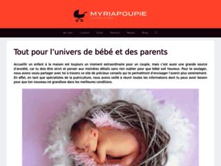Capture du site http://www.myriapoupie.com