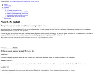 MySEO Booster - Auditer gratuitement votre site web