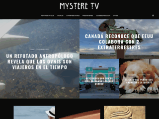 Screenshot du site mystere-tv.com sur mystere-tv.com
