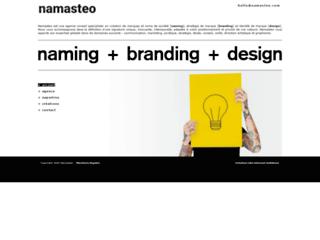 Aperçu du site Namasteo