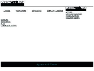 Création de site et référencement Nantes WEB