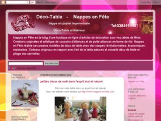 deco-tables de fête