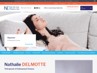 Nathalie Delmotte, coach professionnelle à Grasse