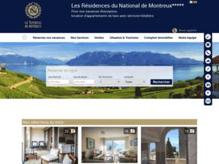 Détails : Appartements de vacances Montreux