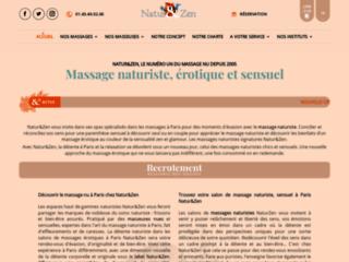 Massage et relaxation sur Paris sur http://www.natur-zen.fr