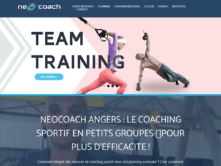 Neocoach Angers : le coaching sportif en petits groupes