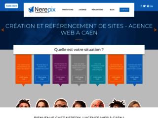 Détails : Nerepix spécialiste création de site à Caen