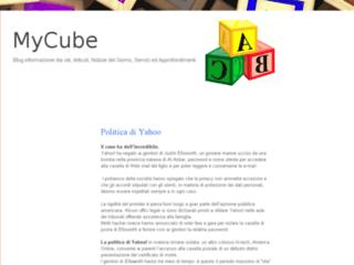 Info: Scheda e opinioni degli utenti : MyCube - Blog informazione dai siti, Articoli, Notizie, Servizi