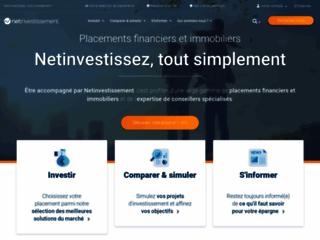Capture du site http://www.net-investissement.fr