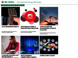 Net-Parade.it - Scopri tutti i siti, blog e forum presenti.
