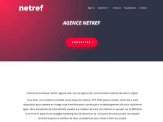 Création de site internet à Dijon - Netref