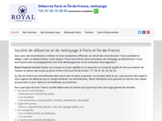 Débarras, déblaiement et nettoyage à Paris et île-de-France