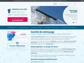 Société de nettoyage région de Bruxelles