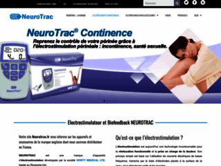 Capture du site http://www.neurotrac.fr