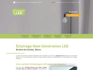 New Generation Led, vendeur installateur à Braine Le Comte