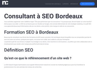 Consultant et formateur SEO Bordeaux