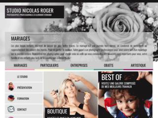Capture du site http://www.nicolasroger.fr