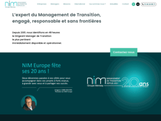 Management de transition à l'international