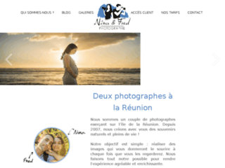 Capture du site http://www.ninaetfred.fr
