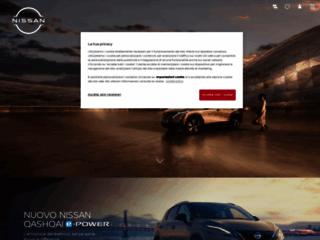 Nissan Italia: vetture, veicoli commerciali, servizi e finanziamenti