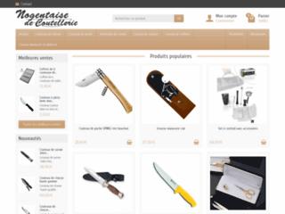 Aperçu du site Nogentaise de Coutellerie