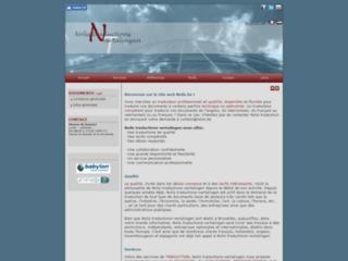 Nolis-Traduction néerlandais, français et anglais - Création de site web - Liège - Bruxelles