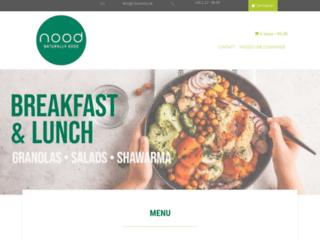 Livraison de repas avec Nood
