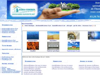 Aqua-control , spécialiste du traitement de l'humidité