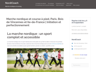 Marche Nordique, Paris, Bois de Vincennes et Ile-de-France