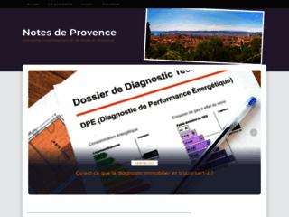 Boutique online de produits de beauté naturels sur http://www.notes-de-provence.com