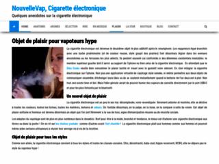 Détails : e-cigarette Nouvelle Vape
