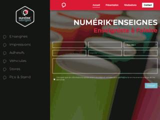 Détails : Numerik Enseignes - concepteur d'enseignes numériques à Falaise